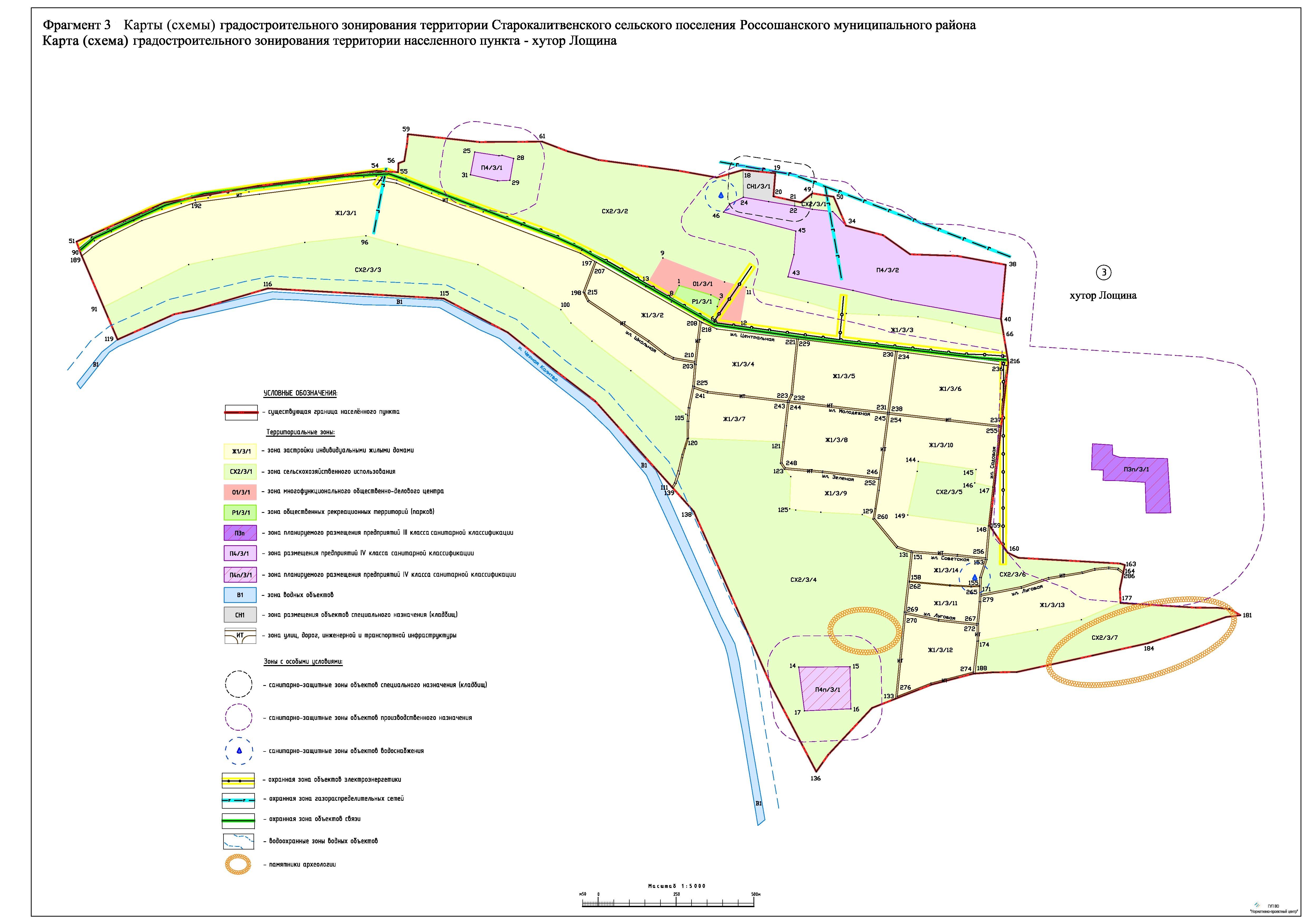 Карта схема расположения предприятия